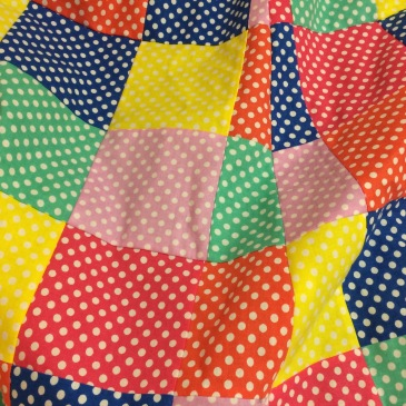 polka dot patchwork