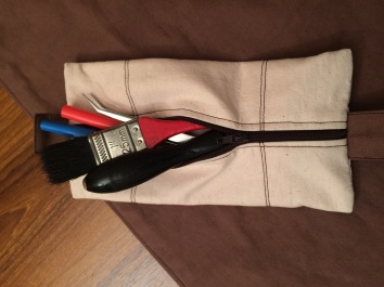 removable zipper pouch